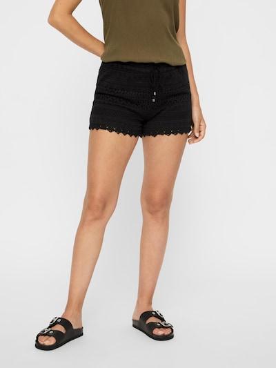 VERO MODA Shorts 'Honey' in schwarz, Modelansicht