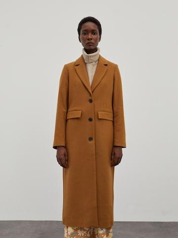 EDITED Between-seasons coat 'Airin' in Brown