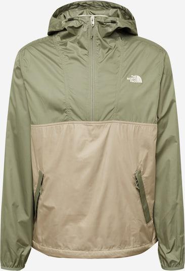 THE NORTH FACE Övergångsjacka i grå / grön, Produktvy