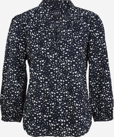 GAP Blouse in de kleur Navy / Wit, Productweergave