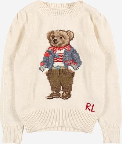 Polo Ralph Lauren Pullover in braun / wollweiß, Produktansicht