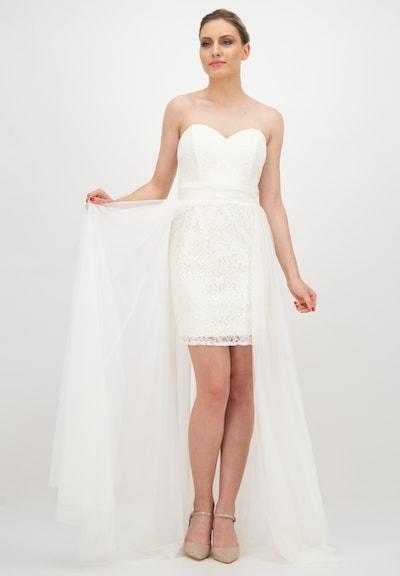 Prestije Minikleid in weiß, Modelansicht