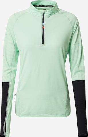 Rukka Funksjonsskjorte 'MELLI' i grønn