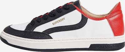 Superdry Chaussure de sport en miel / rouge / noir / blanc, Vue avec produit