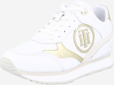 Sneaker low TOMMY HILFIGER pe auriu / alb, Vizualizare produs
