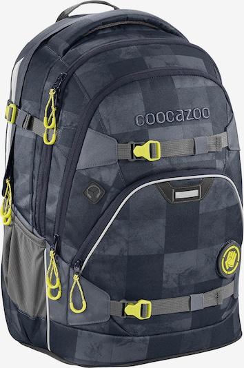 Coocazoo Rugzak in de kleur Neongeel / Grijs, Productweergave