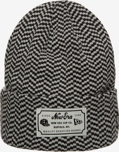 NEW ERA Heritage Striped Cuff Beanie in schwarz, Produktansicht