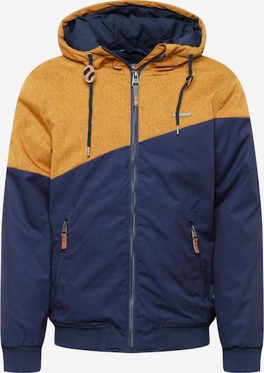 Ragwear Jacke 'WINGS' in nachtblau / cognac, Produktansicht
