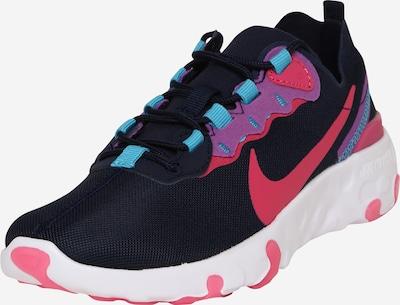Nike Sportswear Schuhe 'Renew Element 55' in blau / purpur / schwarz, Produktansicht
