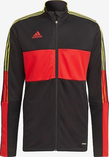 ADIDAS PERFORMANCE Sportjas 'Tiro' in de kleur Geel / Rood / Zwart / Wit, Productweergave