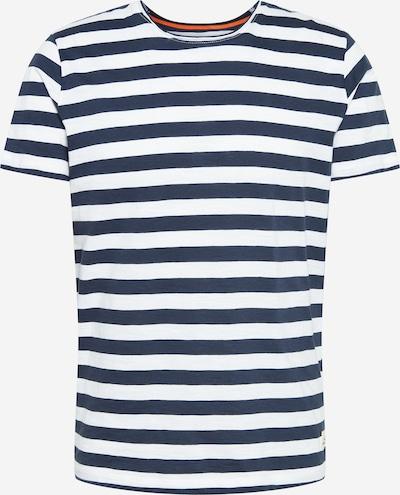 JACK & JONES Shirt 'JORTONS' in navy / weiß, Produktansicht