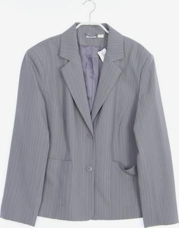 Basic Line Blazer in XXL in Grey