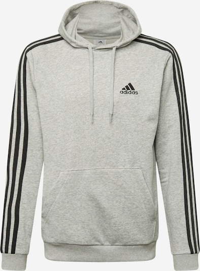 ADIDAS PERFORMANCE Sportiska tipa džemperis gaiši pelēks / melns, Preces skats