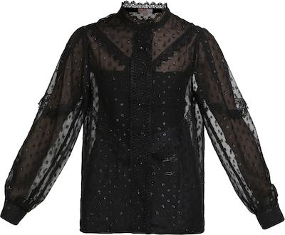 myMo NOW Bluse in schwarz, Produktansicht