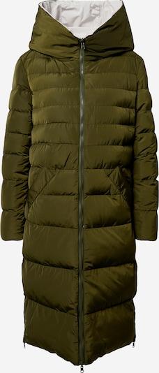 Žieminis paltas iš RINO & PELLE , spalva - alyvuogių spalva / balta, Prekių apžvalga