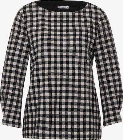 STREET ONE Shirt in schwarz / schwarzmeliert / weißmeliert, Produktansicht