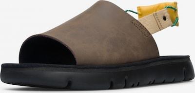 CAMPER Sandale 'Twins' in braun, Produktansicht