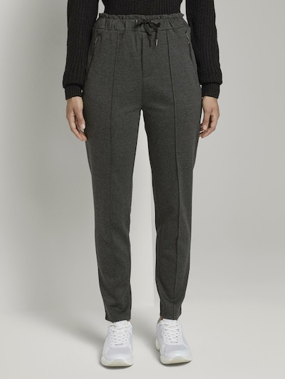 TOM TAILOR DENIM Hose in grau, Modelansicht