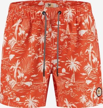 Pantaloncini da bagno di Shiwi in arancione