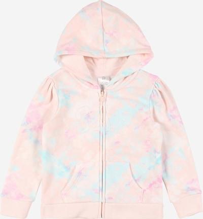 GAP Tepláková bunda - svetlomodrá / svetloružová, Produkt