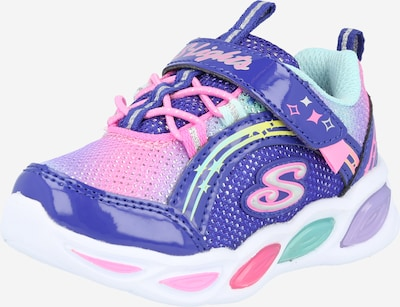 Sneaker 'SHIMMER BEAMS' SKECHERS pe albastru violet / culori mixte, Vizualizare produs
