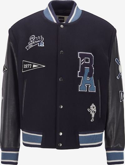 BOSS Between-Season Jacket 'Carsity_Russell Athletic' in Navy, Item view