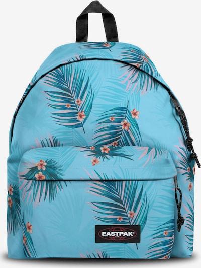 EASTPAK Sac à dos en turquoise / bleu pastel / abricot / rose pastel, Vue avec produit