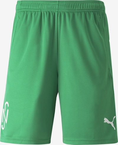 PUMA Sportshorts 'Neymar' in grün / weiß, Produktansicht
