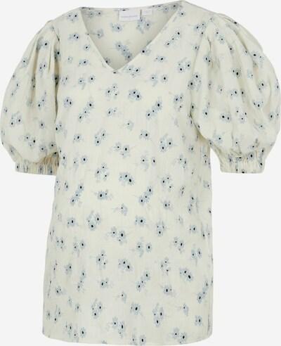 MAMALICIOUS Bluse in blau / naturweiß, Produktansicht