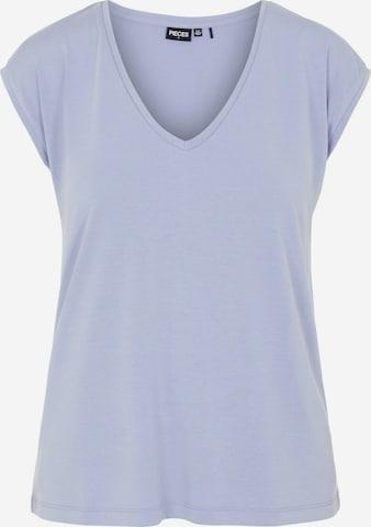 PIECES T-Shirt 'Kamala' in Lila
