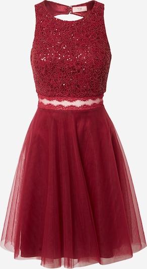 VM Vera Mont Koktejl obleka | vinsko rdeča barva, Prikaz izdelka