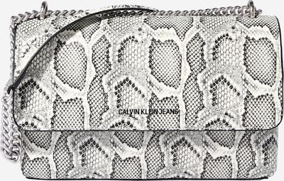 Calvin Klein Jeans Umhängetasche in grau / schwarz / naturweiß, Produktansicht