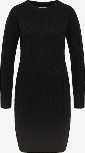 MYMO Strickkleid in schwarz, Produktansicht