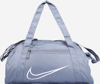 NIKE Sports bag 'Gym Club' in dusty blue / white, Item view