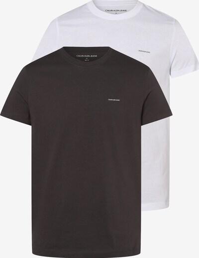 Calvin Klein Jeans Tričko - antracitová / biela, Produkt