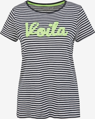 Frogbox Shirt 'VOILA' in de kleur Neongeel / Gemengde kleuren, Productweergave