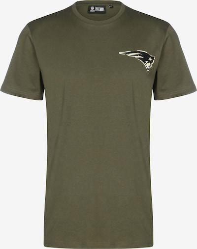 NEW ERA T-Shirt in beige / oliv, Produktansicht