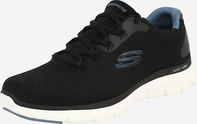 Sneaker low SKECHERS pe albastru fumuriu / negru / alb, Vizualizare produs