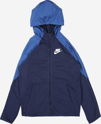 Nike Sportswear Mikina - modrá / tmavě modrá, Produkt