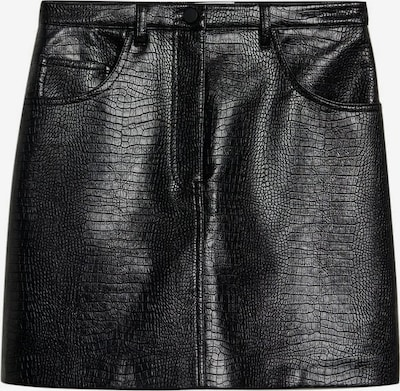 MANGO Rock 'Croco' in schwarz, Produktansicht