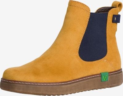 JANA Chelsea Boots in gelb / grün / schwarz, Produktansicht