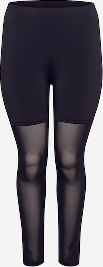 Leggings Urban Classics Curvy di colore nero, Visualizzazione prodotti