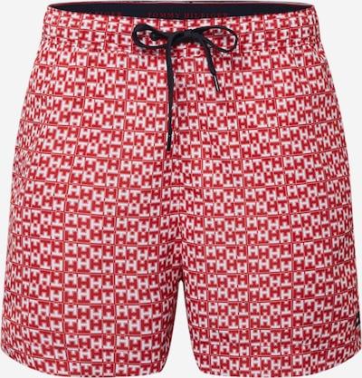 Tommy Hilfiger Underwear Plavecké šortky - červená / bílá, Produkt