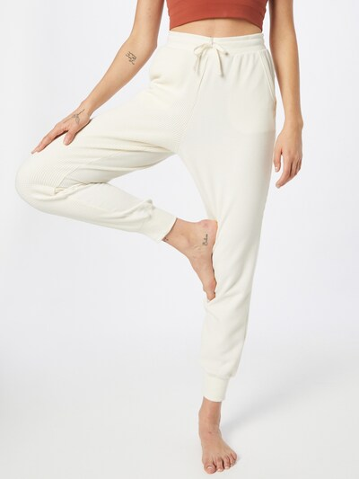 NIKE Hose in wollweiß, Modelansicht