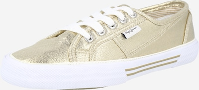 Pepe Jeans Nizke superge 'ABERLADY' | zlata barva, Prikaz izdelka