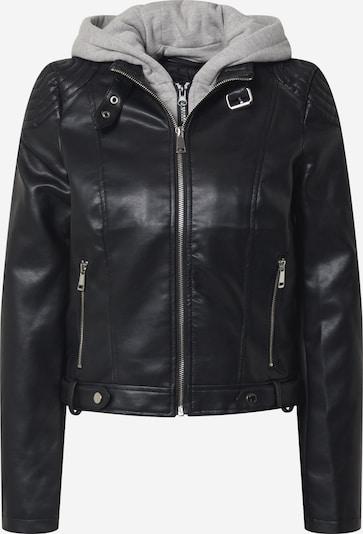 VERO MODA Jacke in hellgrau / schwarz, Produktansicht