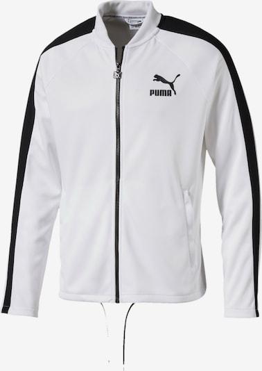 PUMA Jacke 'Archive' in schwarz / weiß, Produktansicht