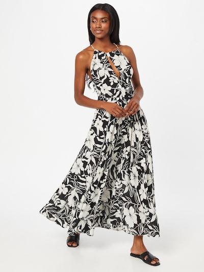 POLO RALPH LAUREN Kleid in schwarz / weiß, Modelansicht