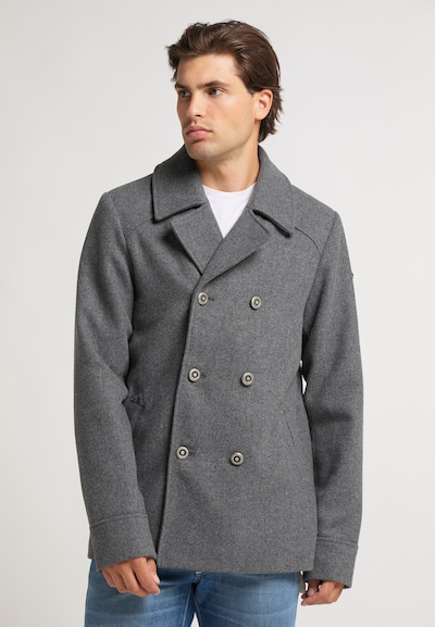 DreiMaster Vintage Between-seasons coat in dark grey, View model