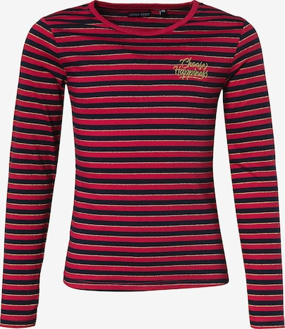 LEMON BERET Shirt in dunkelblau / rot, Produktansicht